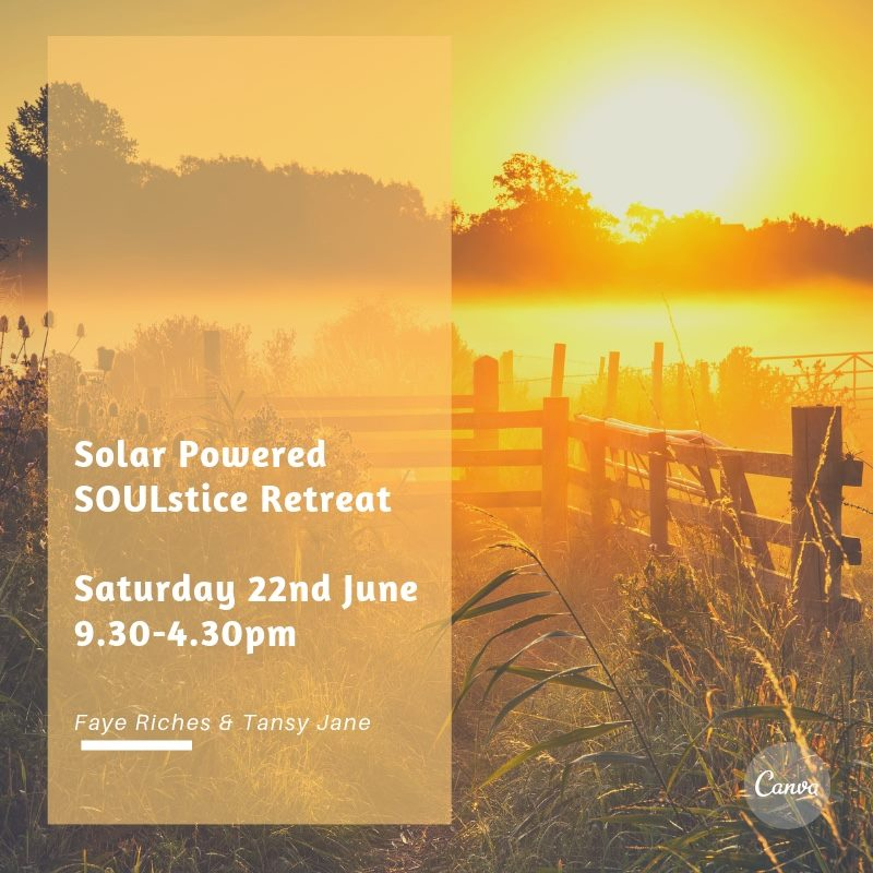 solar powered soulstice retreat